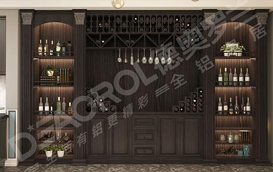 全铝家具酒柜