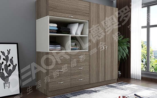 铝合金家具衣柜