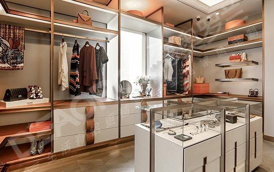 轻奢侈定制全铝衣柜