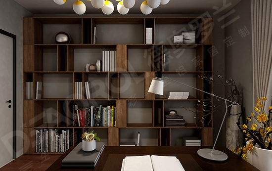 现代简约全铝书柜